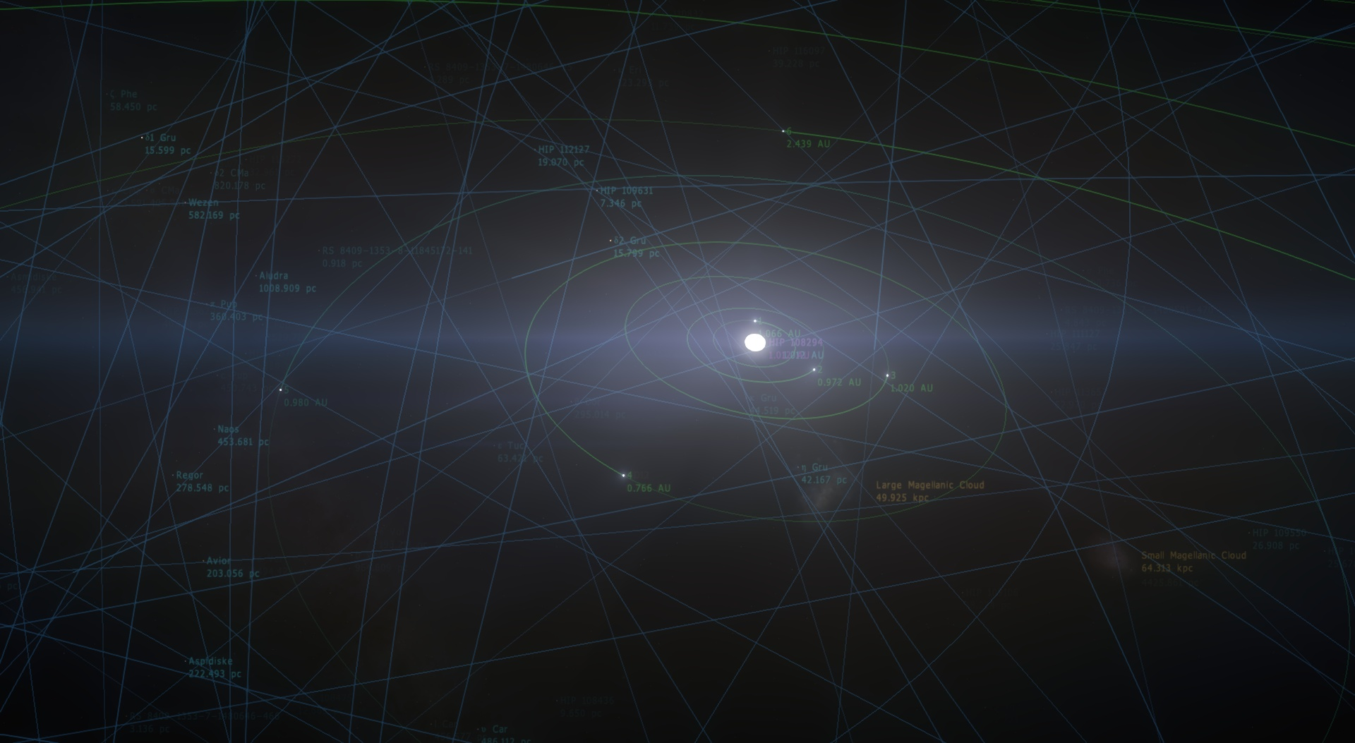 大きな空間とPython
